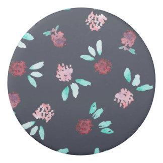 Clover Flowers Round Eraser
