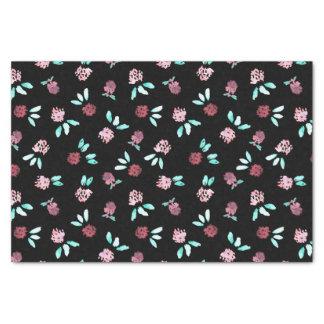 Clover Flowers Tissue Paper