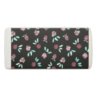 Clover Flowers Wedge Eraser