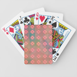 CLOVER HEARTS PATTERN POKER DECK