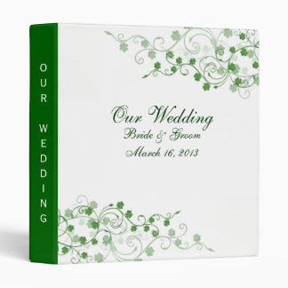 Clover Irish Wedding Binder