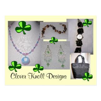 Clover Knoll Designs Postcard