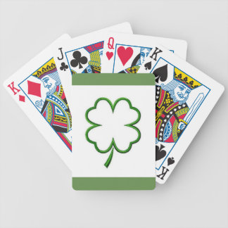 Clover Leaf, Bicycle® Poker Playing Cards