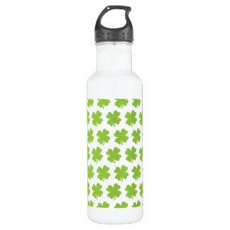 Clover Leaf Illustration 710 Ml Water Bottle