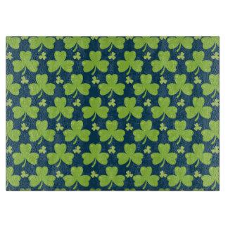 Clover Leaf Illustration Cutting Board