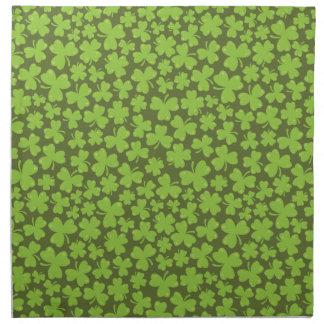 Clover Leaf Illustration Napkin