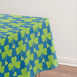 Clover Leaf Illustration Tablecloth