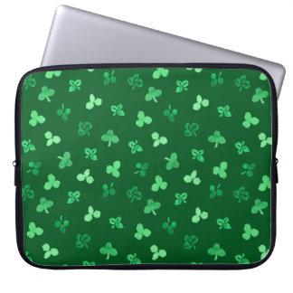 Clover Leaves 15'' Laptop Sleeve