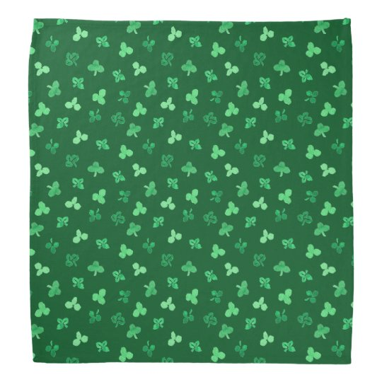 Clover Leaves Bandana