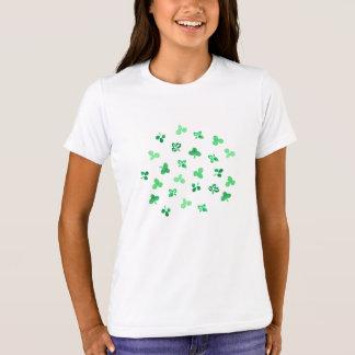 Clover Leaves Girls' Crew T-Shirt