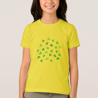 Clover Leaves Girls' Fine Jersey T-Shirt