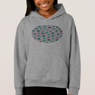 Clover Leaves Girls' Pullover Hoodie