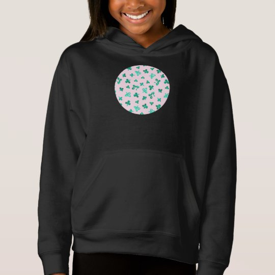 Clover Leaves Girls' Pullover Hoodie