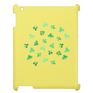 Clover Leaves Glossy iPad Case