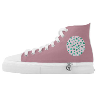 Clover Leaves High Top Shoes