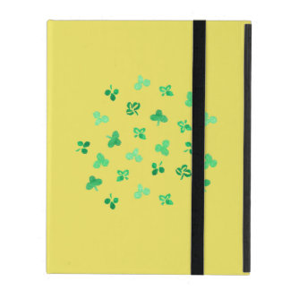 Clover Leaves iPad 2/3/4 Case with No Kickstand