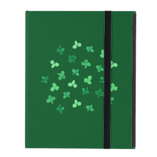 Clover Leaves iPad 2/3/4 Case with No Kickstand Cover For iPad