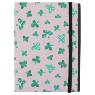 Clover Leaves iPad Pro Case with No Kickstand