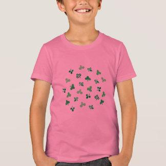 Clover Leaves Kids' Crew T-Shirt