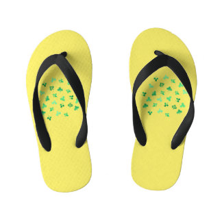 Clover Leaves Kids' Flip Flops