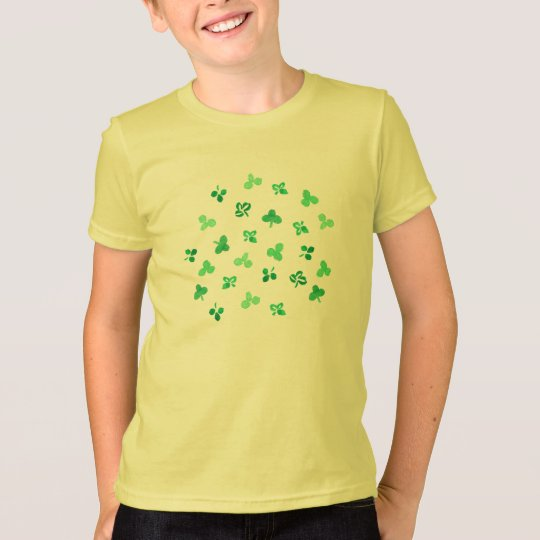 Clover Leaves Kids' Jersey T-Shirt