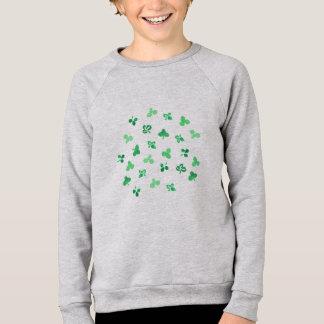 Clover Leaves Kids' Raglan Sweatshirt