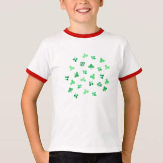 Clover Leaves Kids' Ringer T-Shirt