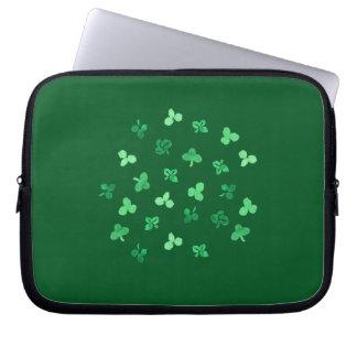 Clover Leaves Laptop Sleeve 10''