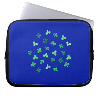 Clover Leaves Laptop Sleeve 10''