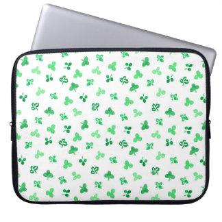 Clover Leaves Laptop Sleeve 15''