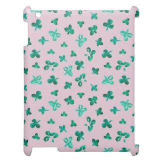 Clover Leaves Matte iPad Case