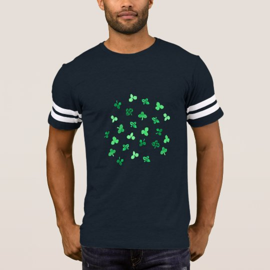 Clover Leaves Men's Football T-Shirt