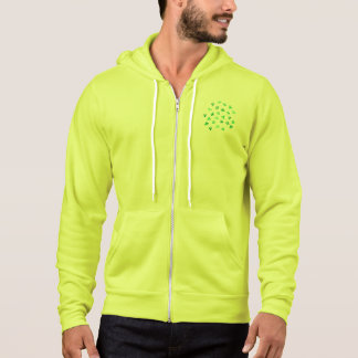 Clover Leaves Men's Full-Zip Hoodie