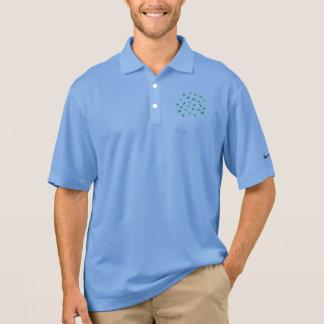 Clover Leaves Men's Pique Polo Shirt