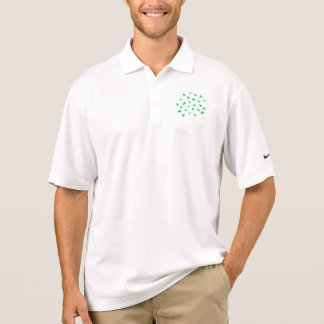 Clover Leaves Men's Pique Polo Shirt