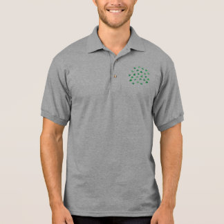 Clover Leaves Men's Polo T-Shirt