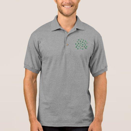 Clover Leaves Men's Polo T-Shirt