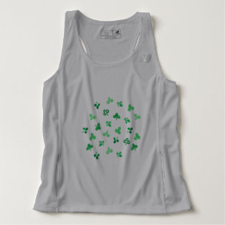 Clover Leaves Men's Running Tank Top