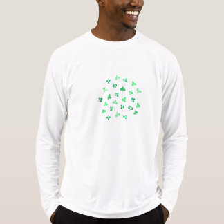Clover Leaves Men's Sports Fitted T-Shirt