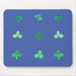 Clover Leaves Mousepad