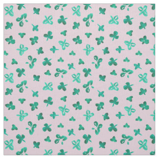 Clover Leaves Pima Cotton Fabric