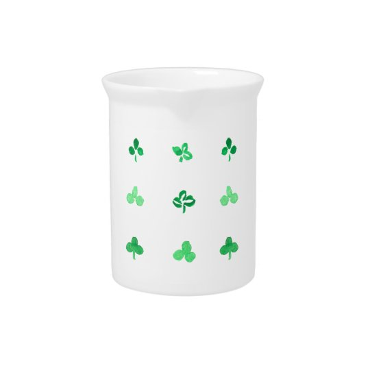 Clover Leaves Pitcher