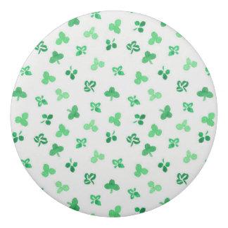 Clover Leaves Round Eraser