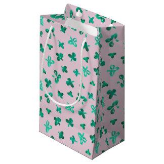 Clover Leaves Small Matte Gift Bag