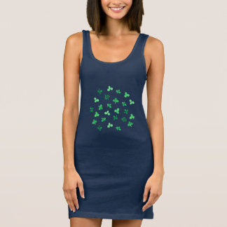 Clover Leaves Tank Dress