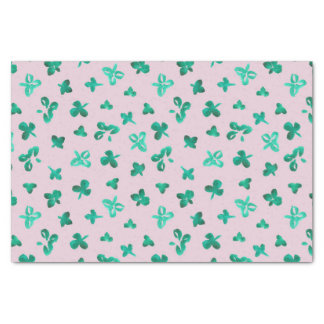 Clover Leaves Tissue Paper