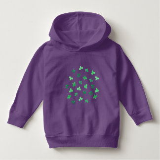 Clover Leaves Toddler Pullover Hoodie