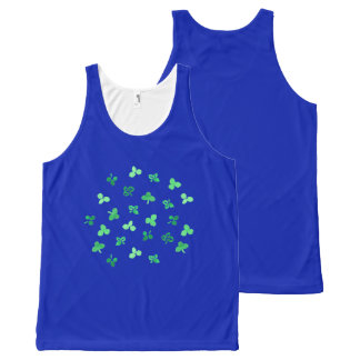 Clover Leaves Unisex Tank Top