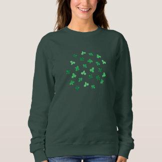 Clover Leaves Women's Basic Sweatshirt