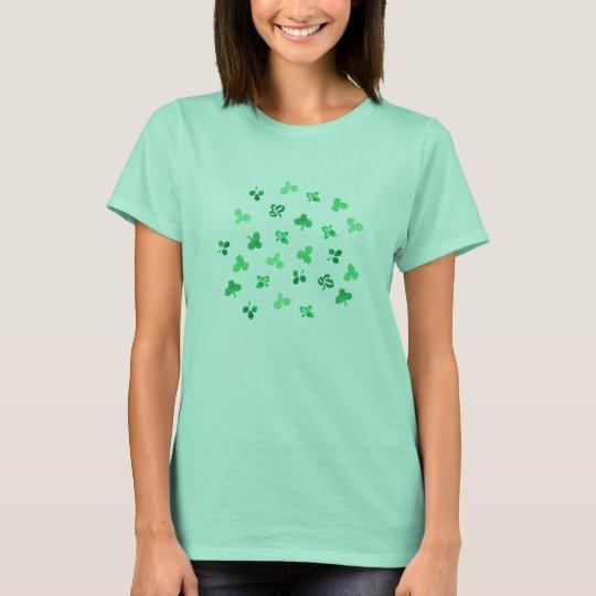 Clover Leaves Women's Basic T-Shirt